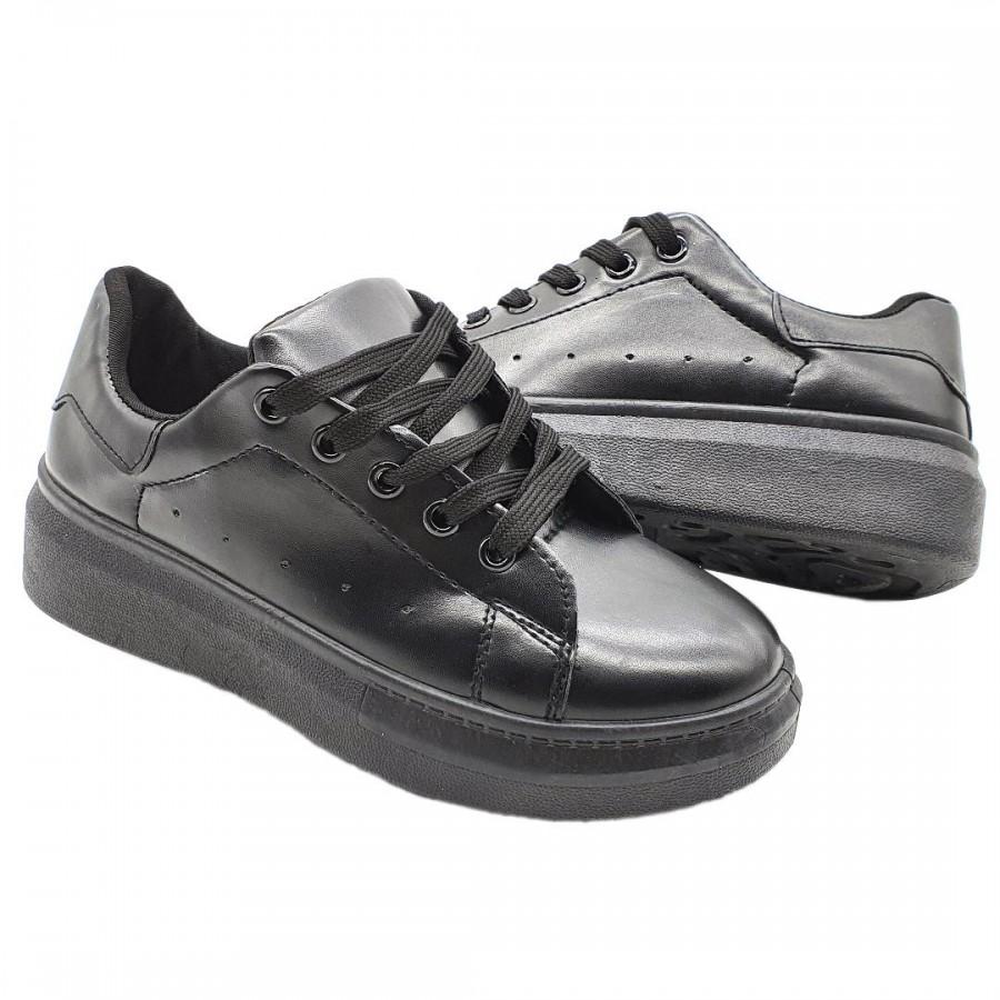 Pantofi  Casual Edy  Black Cod 2068 - Oferta 1+1 Gratis-oferit de denyonline.ro