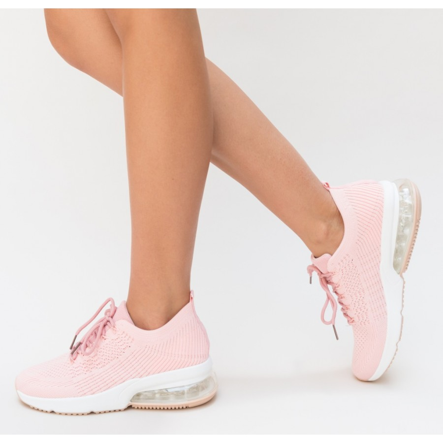 Pantofi  Sport Deny Pink Cod 2078 - Oferta 1+1 Gratis-oferit de denyonline.ro