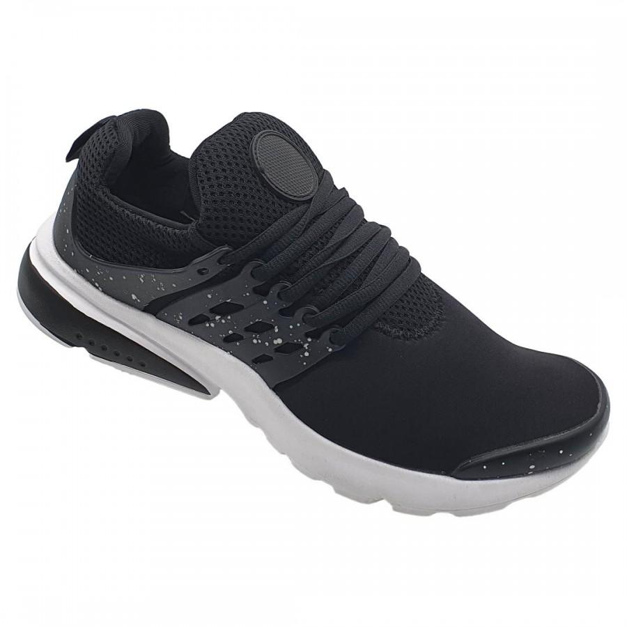 Pantofi Sport Sevan Negru-Alb Cod 2056 - Oferta 1+1 Gratis-oferit de denyonline.ro