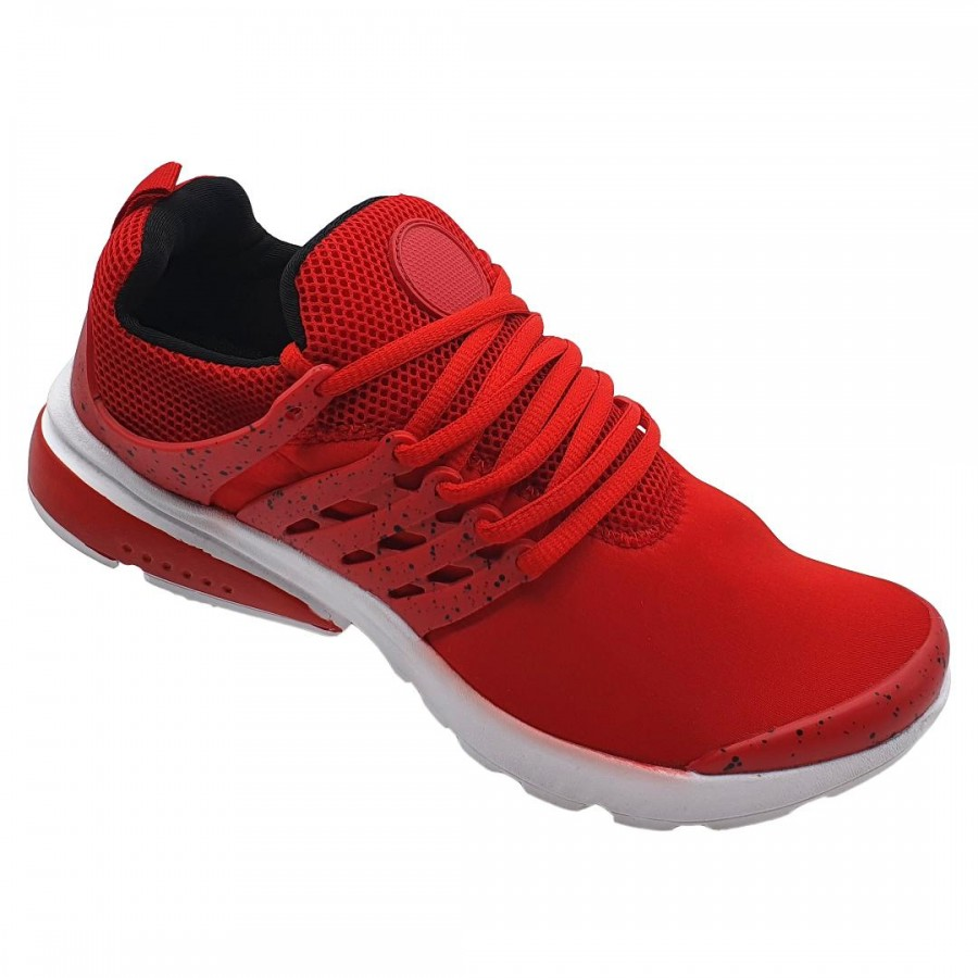 Pantofi Sport Sevan Rosu-Alb Cod 2057 - Oferta 1+1 Gratis-oferit de denyonline.ro